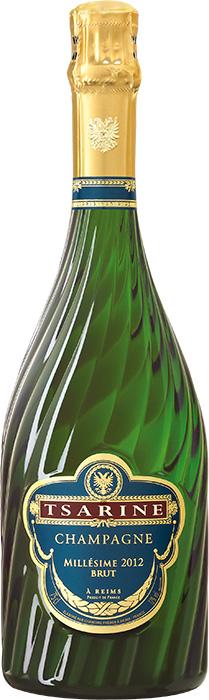 Champagne tsarine millesime 2012